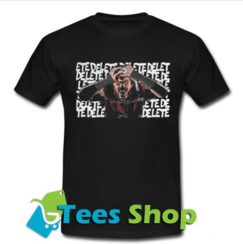 1.Matt Hardy woken warrior T-shirt