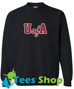 A of U Font Sweatshirt