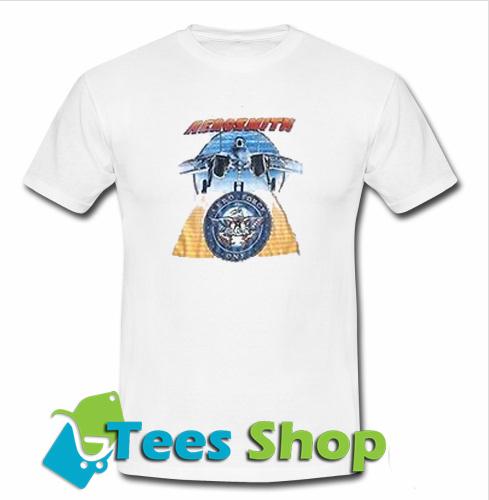 Aerosmith Plane Aero Force T Shirt