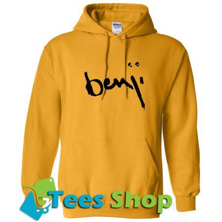 Benji Font Hoodie - Tees Shop