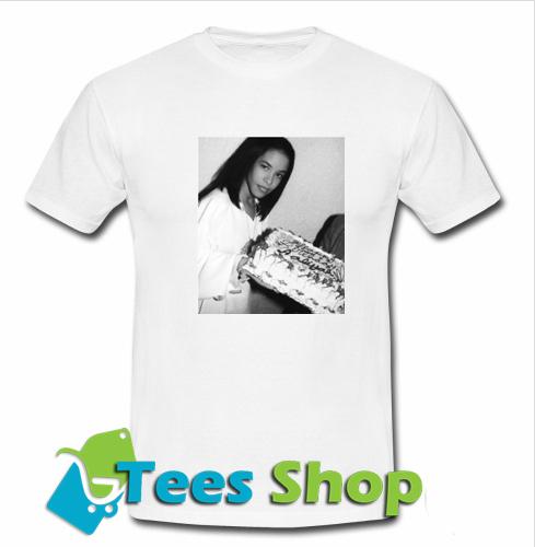 1ee06800e Happy Birthday Aaliyah T-Shirt - teesshops