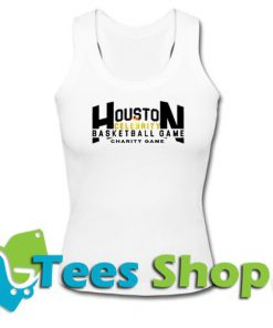 Houston Celebrity Basketball Charity Game Tank top