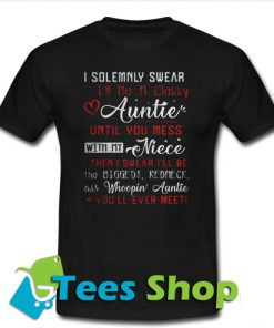 I Solemnly Swear I'll Be A T-Shirt