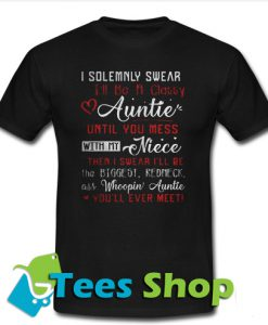 I Solemnly Swear I'll Be A T-Shirt