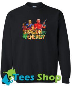 Kanye West and Donald Trump Double Dragon Energy Sweatshirt