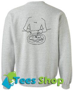 Me Eat You Sweatshirt Back