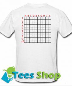 Scratch Grid T-Shirt back