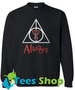 Texas Tech Red Raiders Deathly Hallows Sweatshirt
