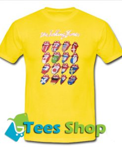 The Rolling Stones Yellow T-Shirt