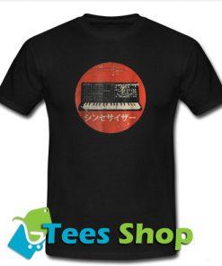 Vintage Synthesizer Japanese Analog Retro T-Shirt