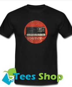 Vintage Synthesizer Japanese Analog Retro T-Shirt