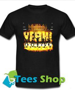 Yeah Def Leppard T shirt