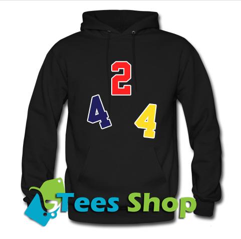 1.jpg424 Logo Print Hoodie