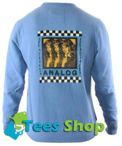 Analog Clifton Blue Sweatshirt back