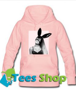 Ariana Grande's Dangerous Woman Tour Light Pink Hoodie