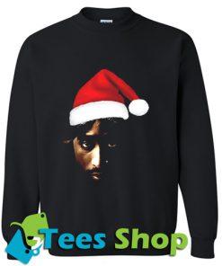 Christmas Jumper Santa Tupac Shakur Sweatshirt