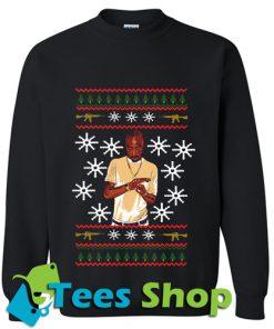 Christmas Tupac Sweatshirt