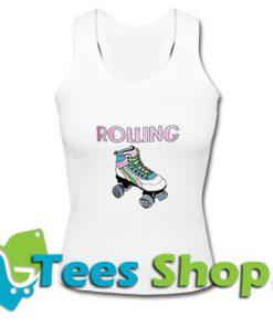 Rolling Roller Skates Tank Top_SM1