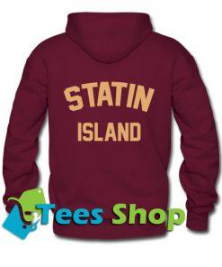 Statin Island Hoodie Back