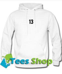 13 Font Hoodie