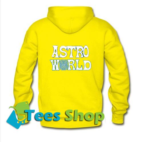 Astro world Back Hoodie