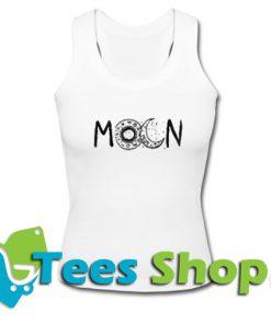 Moon Print Tank top