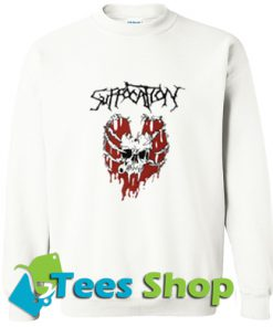Suffocation Skeleton Heart Sweatshirt