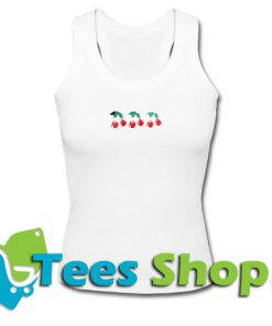 Three Cherry Tank Top