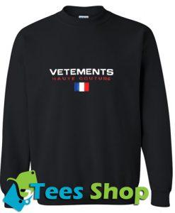 Vetements Haute Couture Sweatshirt
