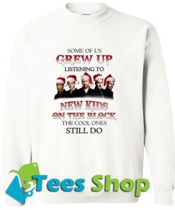 Wearing Christmas hat Some of us Grew Sweatshirt
