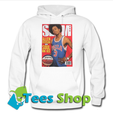 Allen Iverson soul on ice Spalding Hoodie