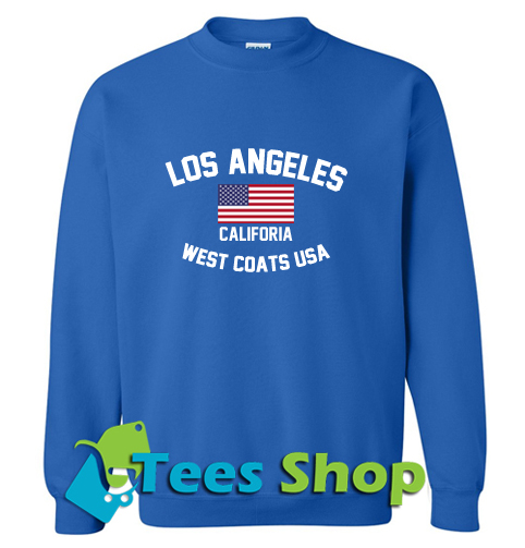 Los Angeles California West Coast USA Sweatshirt