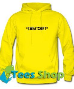 Sweatshirt Font Hoodie