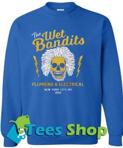 The Wet Bandits Plumbing and Electrical Sweatshirt