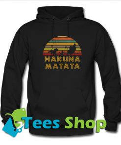 Vintage The Lion King Hakuna Matata Hoodie