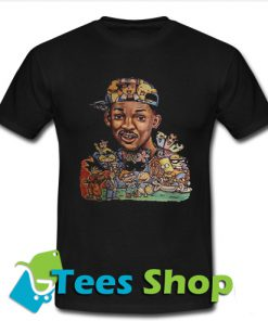Will Smith and cartoon characters T Shirt