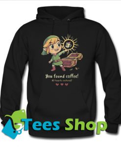 You found coffee all hearts restored Hoodie