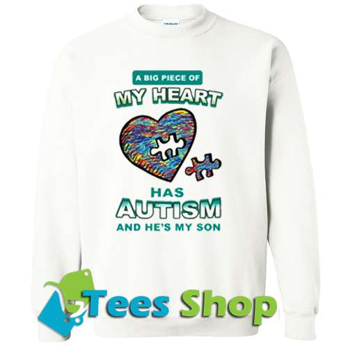 A Big Piece Of My Heart Sweatshirt_SM1