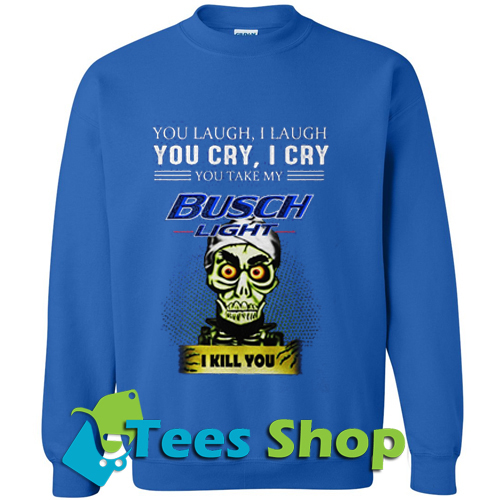 Achmed Busch Light Coffe Sweatshirt_SM1