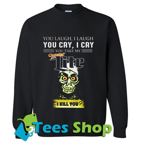 Achmed Miller Lite Coffee Sweatshirt_SM1