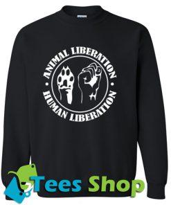 Animal Liberation Men's Sweatshirt_SM1