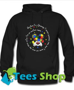 Autism is a journey I never planned Hoodie_SM1