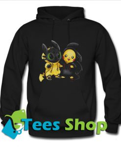 Baby Toothless and Pikachu Hoodie_SM1