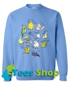 Budgie's Daily To-Do List Sweatshirt_SM1