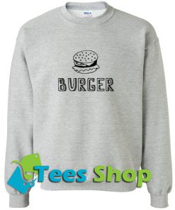 Burger Sweatshirt_SM1