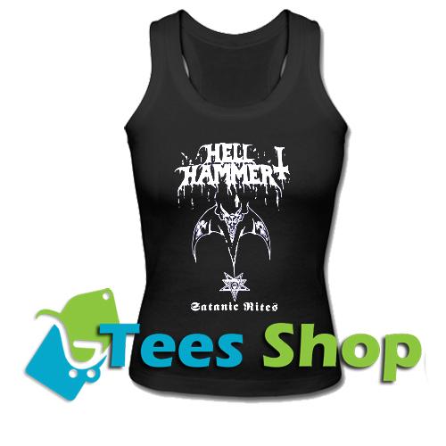 HELLHAMMER Satanic Rites Tank Top_SM1