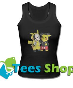 Pikachu and Micke Tank Top_SM1