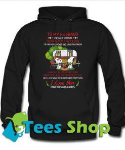 Snoopy To my husband I wish Hoodie_SM1