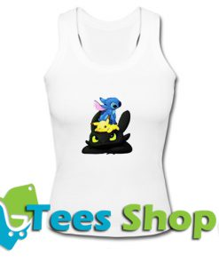 Stitch Pokemon Grinch Tank Top_SM1