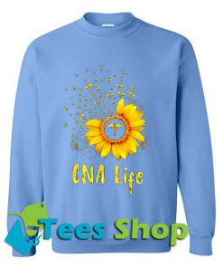 Sunflower CNA life Sweatshirt_SM1